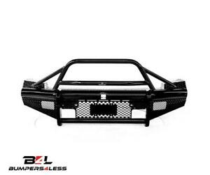 Ranch Hand Btc111blr Legend Bullnose Blk Frnt Bumper For 11 14 Chevy 2500 3500hd