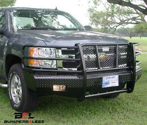 Ranch Hand Fsc08hbl1 Summit Series Blk Pc Front Bumper For 2007 2013 Chevy 1500