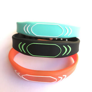 13 56mhz Mifare Classic 1k Silicone Wristband Watch Style Iso14443a 100pcs
