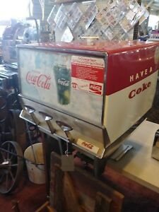 Vintage Coca Cola Multiplex Meteor Dispenser Soda Fountain