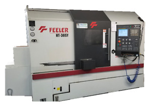 Feeler Ht30sy Used Cnc Live Tooling Lathe