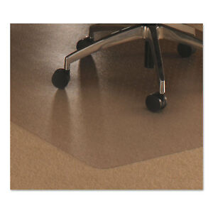 Floortex Cleartex Ultimat Polycarbonate Chair Mat For Low med Pile Carpet 48 X