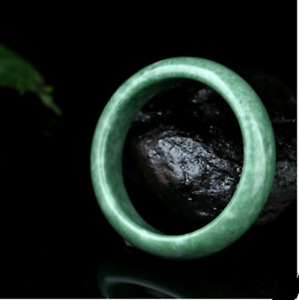 New Collection Chinese Antique Bangle Hand Carved Old Jade Dragon Bracelet 62mm