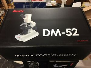 Motic Dm52 Compact Digital Biological Microscope With Led Illumination