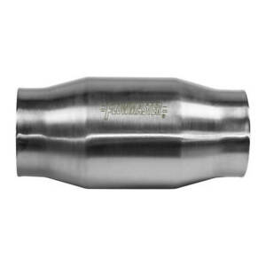 Flowmaster 2000130 Catalytic Converter Stainless Metallic High Flow 200 Cell