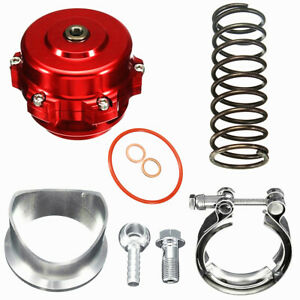 Red Tial 50mm V Band Blow Off Valve Bov Q Type W Weld On Aluminum Flange