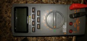 Blue Point Snap on Dmsc683a Digital Multimeter With Test Leads
