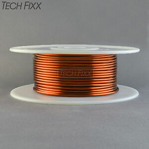 Magnet Wire 14 Gauge Enameled Copper 127 Feet Coil Winding 1 6 Pounds Essex 200c