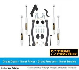 Trail Master Jeep Jk Wrangler 3 5 Inch Lift Kit W Shocks Lower Control Arms