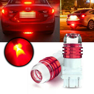 Red Strobe Flashing Warning Led Bulbs Brake Stop Tail Light For Tacoma Tundra