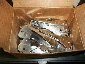 Curtis ford H76 Key Blanks Lot Of 45 Keys