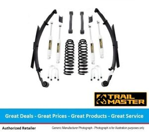 Trail Master Jeep Cherokee Xj 3 0 Inch Lift Kit W Leaf Springs