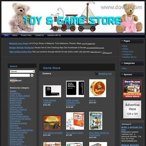 Children Games Store Home Based Online Website No Technical Knowledge Required