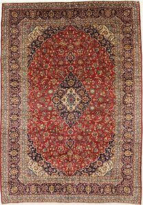 Traditional Handmade Semi Antique 10x14 Persian Rug Oriental Home D Cor Carpet