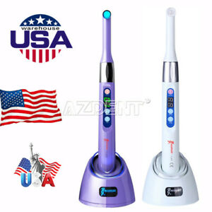 Usps Woodpecker Dental Iled Curing Light Lamp 1 Second Cure 2mm Resin 2300mw cm2