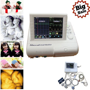Maternal fetal Patient Monitor Fhr toco ecg nibp spo2 Cms800f 8 4 Color Tft hot