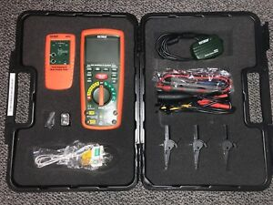 Extech Mg300 13 Function Wireless True Rms Multimeter 1000v Insulation Tester