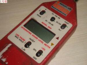 Microphone Damage Unable Work Quest 2500 Sound Level Meter For Get Repair Parts