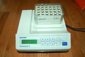 Eppendorf Thermomixer R 2 Ml Thermoshaker Shaker Thermo Mixer Hot Dry Compact Z