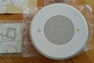 2 Federal Signal Loud Speaker A1 Series 950i 75db 10 Ceiling 7 3 8 Round White