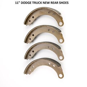 1951 1952 Dodge Truck Brand New Front And Rear Shoes 11 Diameter Front And Rear