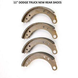 1948 1949 Dodge Truck Brand New Front And Rear Shoes 11 Diameter Front And Rear