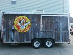 Food Trailer Mobile Kitchen 16ftx8ft