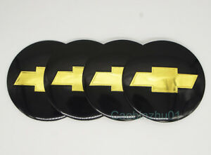 4pcs 56 5mm Car Logo Wheel Center Caps Covers Emblems Stickers For Chevrolet