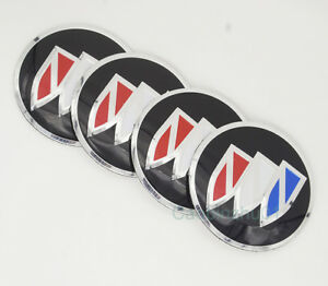 4pcs 56 5mm Car Logo Wheel Center Caps Covers Emblems Stickers For Buick