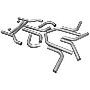 Flowmaster Universal Exhaust Kit U fit Dual 409s 2 50 pipes Only 815936