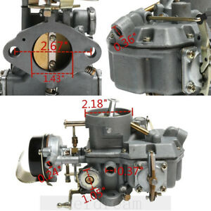 Autolite 1100 For Ford 6 Cyl Mustangs Carburetor 170 200 Engines 63 69 Automatic