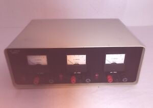 Simpson Variable Regulated Low Voltage Dc Power Supply 50 Volts 5 Amps