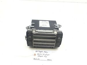 09 10 Toyota Matrix Am fm Radio Cd Player Oem 86120 02710