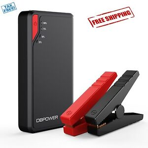 Battery Jump Starter Car Power Charger Booster Peak Portable Ultra Compact Auto