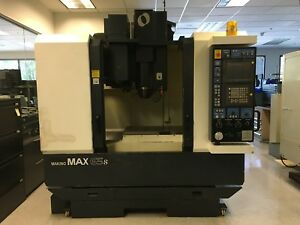 Makino Max 65s A20g Cnc Machining Center 25 x 15 y 15 z
