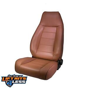 Rugged Ridge 13402 37 Spice Factory Style Replacement Seat For 76 03 Jeep Cj 5