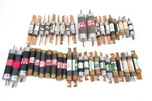 42x Lot Of Bussman Fuse Fusetron Gould Reliance Electric