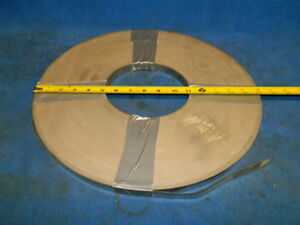 Stainless Steel Strapping 3 4 Wide 020 Thick 36 Pound Roll