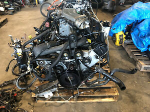 2002 F150 Lightning 5 4 Supercharged Engine Trans Pull Out 93k Svt