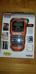 Brother P touch Pt e105 Electrical Cable Wiring Label Maker New Free Shipping