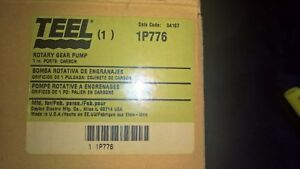 1p776 Teel Bronze Rotary Gear Pump