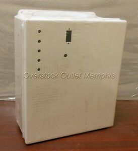 Hoffman A1412chqr Jic Enclosure box White Electrical Junction Steel New