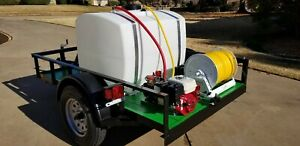 Soft Wash Pest Control Herbicide Dust Control Sprayer Trailer New