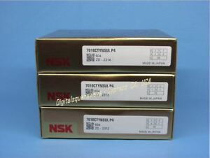 Nsk 7018ctynsulp4 Abec 7 Super Precision Spindle Bearings Matched Set Of 3