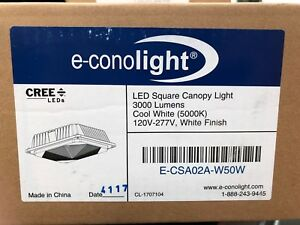 E conolight Led Square Canopy Light