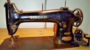 Singer Sewing Machine 96 40 Industrial Sewing Machine Collectible