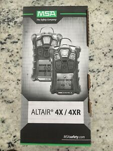 Msa Altair 4 Gas Monitor Portable Gas Leak Detector Safety Co2 H2s Explosive
