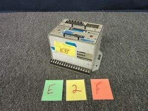 Ce Invalco W 310 Time Totalizer Military Navy Meter Ac I 769 Used E 2 f