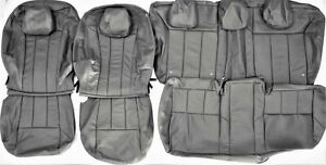 2012 2013 2014 Ford Focus S Se 4dr Sedan Gray Leather Upholstery Seay Cover Set