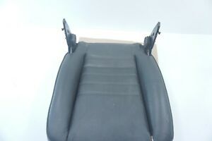 Porsche 944 911 968 Front Right Side Lower Seat Black